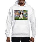 Lilies / Eng Spring Hooded Sweatshirt