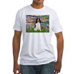Lilies / Eng Spring Fitted T-Shirt