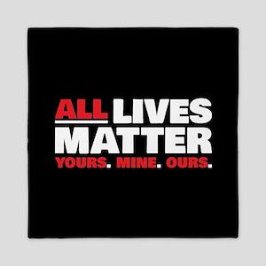 All Lives Matter Queen Duvet