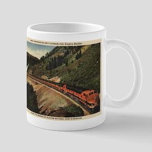 Glacier National Park, MT - Empire Builder Train M