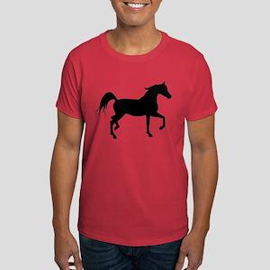 Arabian Horse Silhouette Dark T-Shirt