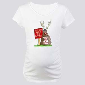 Do Not Feed the Bears Maternity T-Shirt