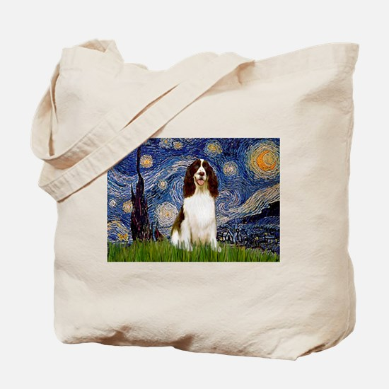Starry Night / Eng Spring Tote Bag