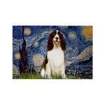 Starry Night / Eng Spring Rectangle Magnet (10 pac