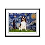 Starry Night / Eng Spring Framed Panel Print