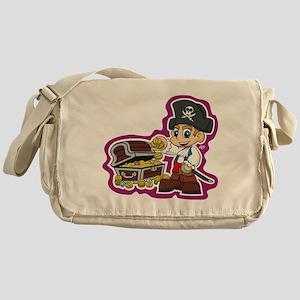 Little Pirate Messenger Bag