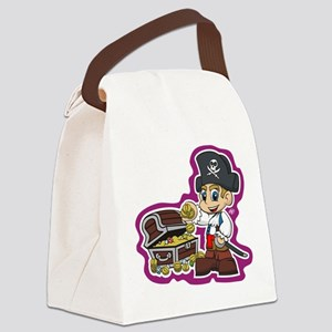 Little Pirate Canvas Lunch Bag