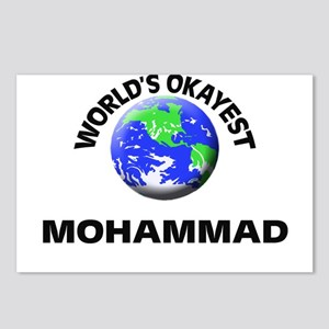 World's Okayest Mohammad Postcards (Package of 8)