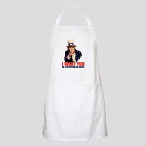 Stop Voting For Idiots BBQ Apron