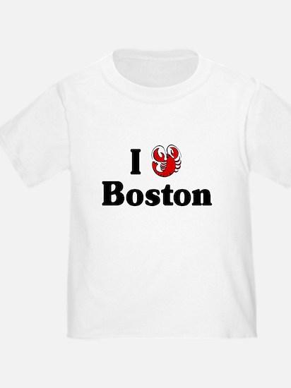 I Love Boston T
