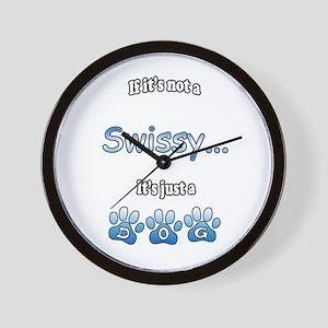 Swissy Not Wall Clock