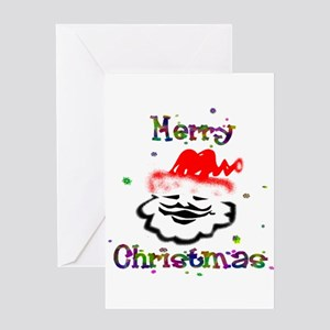 Merry Christmas Santa - Greeting Card