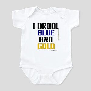 BLUE AND GOLD Infant Bodysuit