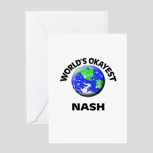 World's Okayest Nash Greeting Cards