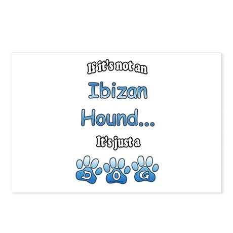 Ibizan Hound Not Postcards (Package of 8)