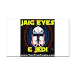 Jaig Eyes & Jedi Rectangle Car Magnet