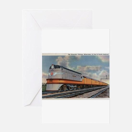 Chicago, Illinois - The Hiawatha Railroad Train Gr