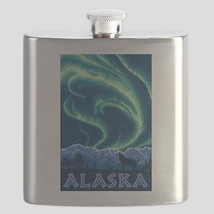 Alaska - Northern Lights Flask