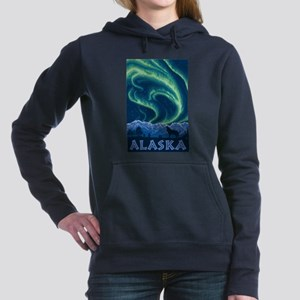 Alaska - Northern Lights Women's Hooded Sweatshirt