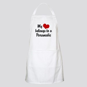 My Heart Belongs to a Paramedic BBQ Apron