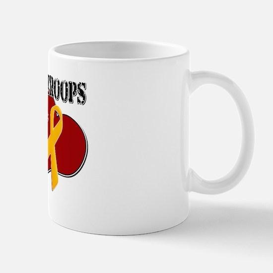 My Heart Wears Red on Fridays Mug