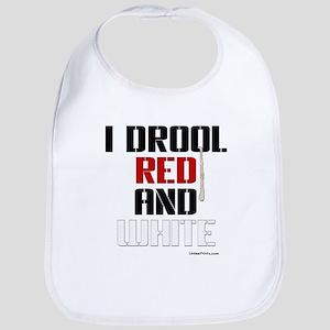 RED AND WHITE (KC) Bib
