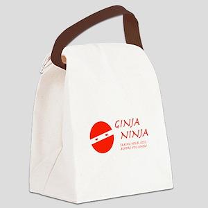 Ginja Ninga Canvas Lunch Bag