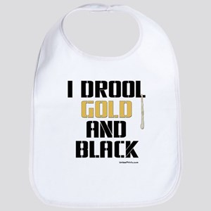 GOLD AND BLACK (Jack) Bib