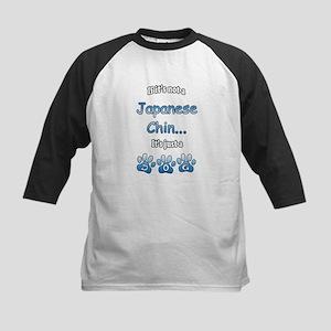 Chin Not Kids Baseball Jersey