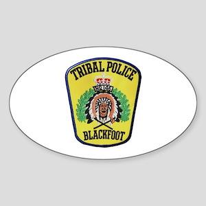 Tribal Police Blackfoot Sticker