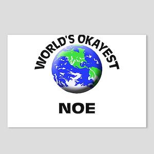 World's Okayest Noe Postcards (Package of 8)
