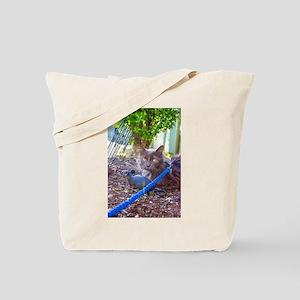 Rat and Cat Tote Bag