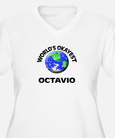 World's Okayest Octavio Plus Size T-Shirt