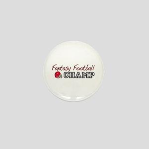Fantasy Football Champ Mini Button