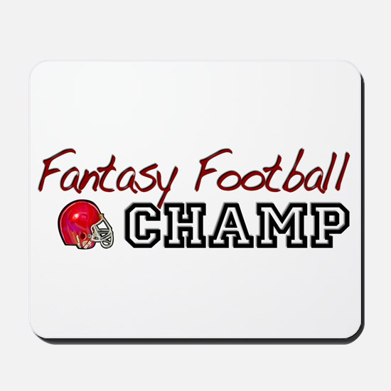 Fantasy Football Champ Mousepad
