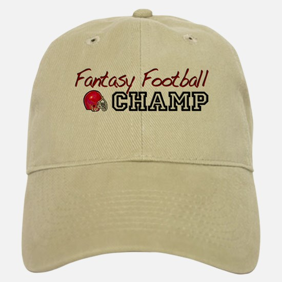 Fantasy Football Champ Baseball Baseball Cap