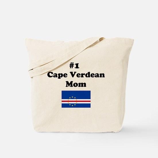 #1 Cape Verdean Mom Tote Bag