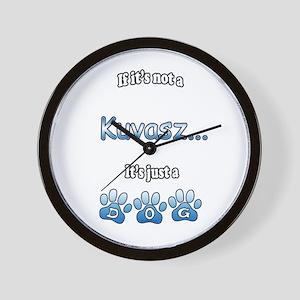 Kuvasz Not Wall Clock