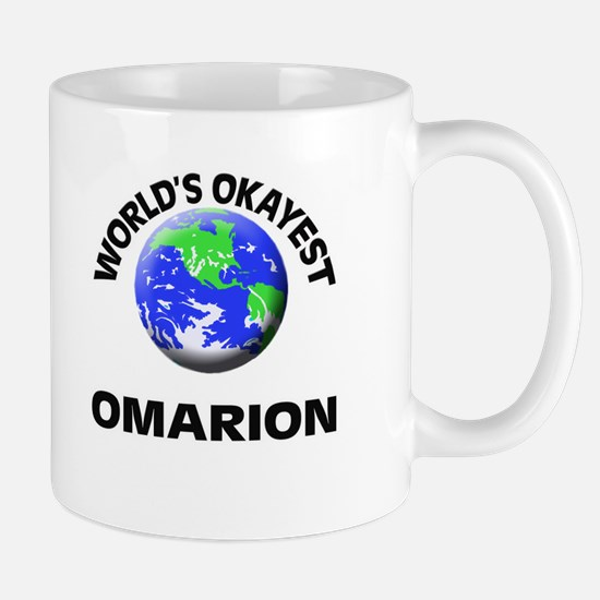 World's Okayest Omarion Mugs