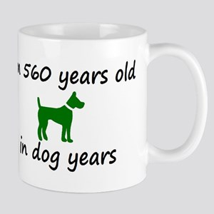 80 Dog Years Green Dog 2 Mugs