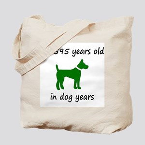 85 Dog Years Green Dog 1C Tote Bag