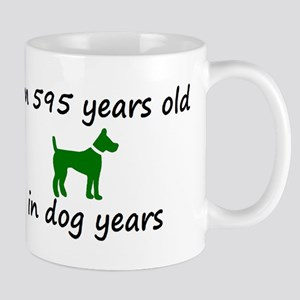 85 Dog Years Green Dog 2 Mugs
