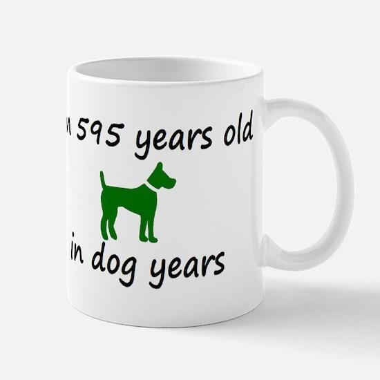 85 Dog Years Green Dog 2 Mugs