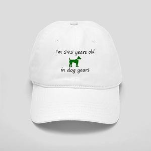 85 Dog Years Green Dog 2 Baseball Cap