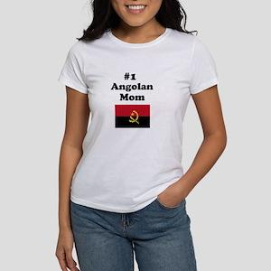 #1 Angolan Mom Women's T-Shirt