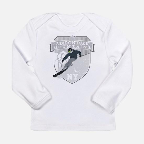 Ski Adirondacks Long Sleeve T-Shirt