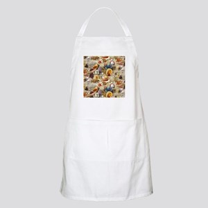 Seashells And Starfish Apron
