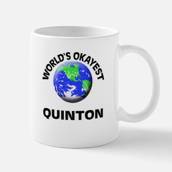 World's Okayest Quinton Mugs