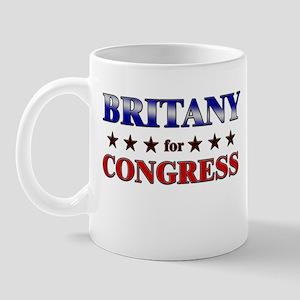 BRITANY for congress Mug