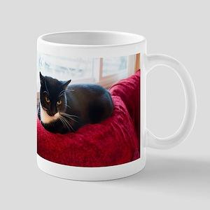Tuxedo Cat Mugs